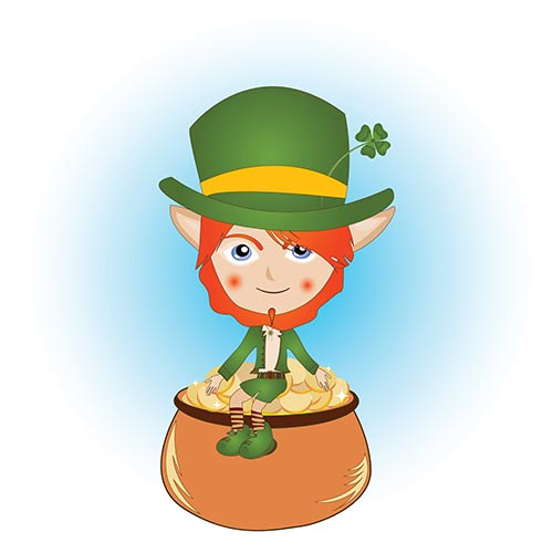 L is for... answer: LEPRECHAUN