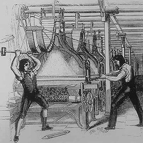 L is for... answer: LUDDITE