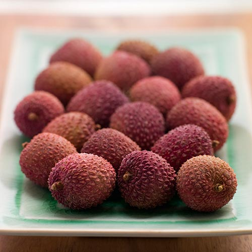 L is for... answer: LYCHEES