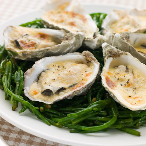 Love answer: OYSTERS