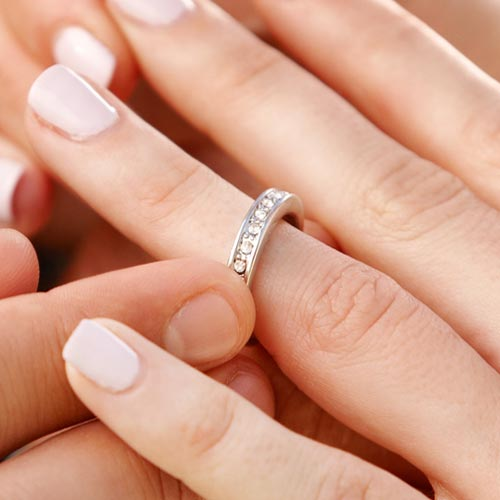 Love answer: ETERNITY RING
