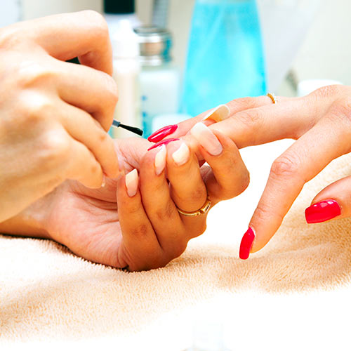 M is for... answer: MANICURE