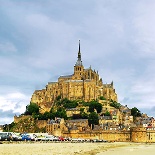 M is for... answer: MONT ST MICHEL