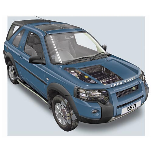 Modern Cars answer: FREELANDER MK2