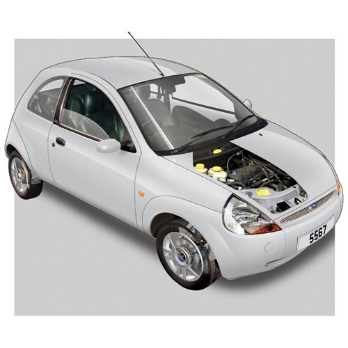 Modern Cars answer: FORD KA
