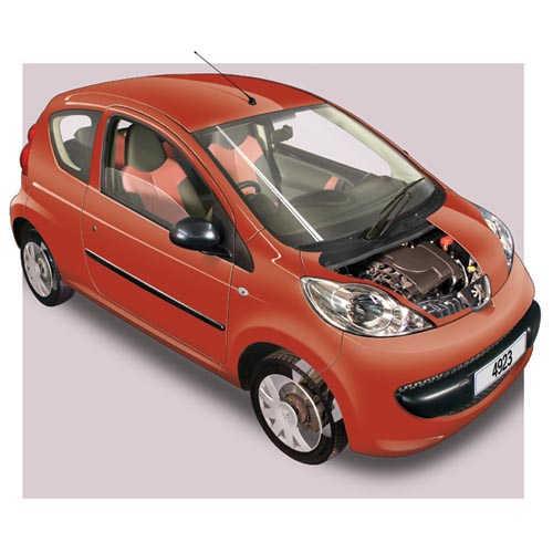 Modern Cars answer: PEUGEOT 107