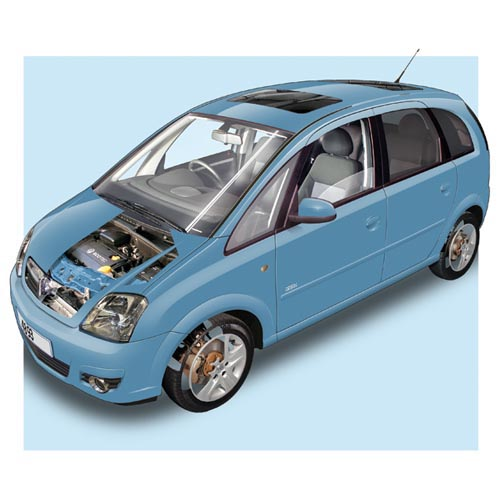 Modern Cars answer: VAUXHALL MERIVA