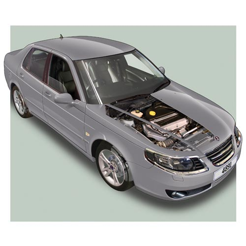 Modern Cars answer: SAAB 9-5