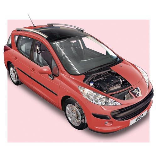 Modern Cars answer: PEUGEOT 207