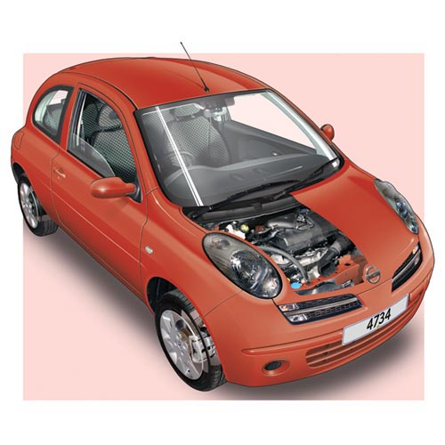 Modern Cars answer: NISSAN MICRA