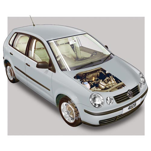 Modern Cars answer: VW POLO MK4