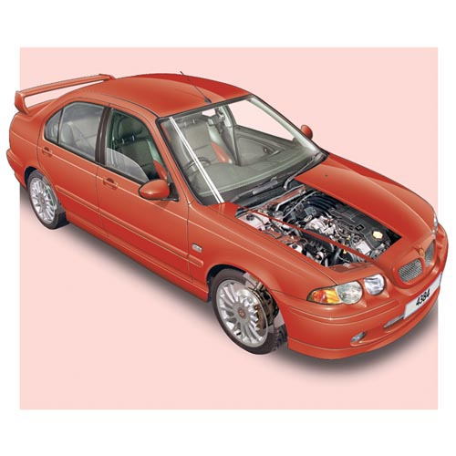 Modern Cars answer: ROVER 45