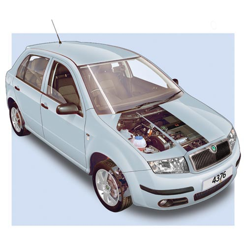 Modern Cars answer: SKODA FABIA