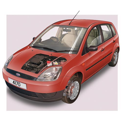 Modern Cars answer: FORD FIESTA MK4