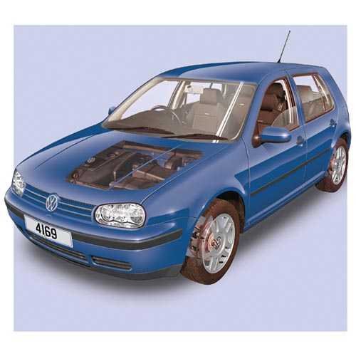 Modern Cars answer: VW GOLF MK4