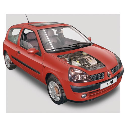 Modern Cars answer: RENAULT CLIO MK3