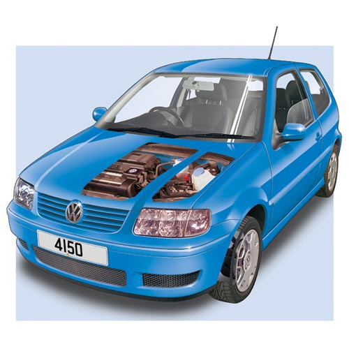 Modern Cars answer: VW POLO MK3