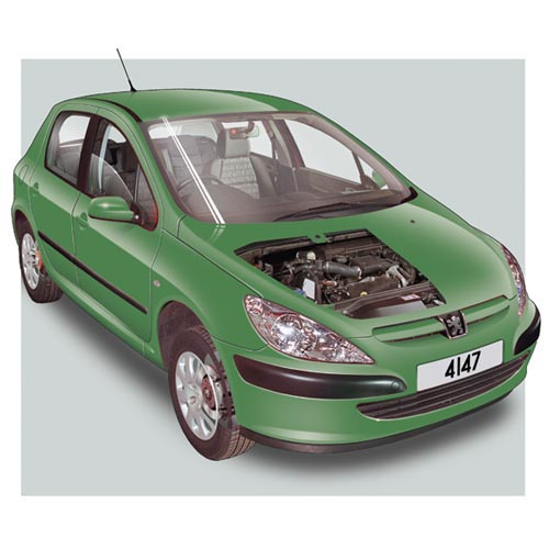 Modern Cars answer: PEUGEOT 307