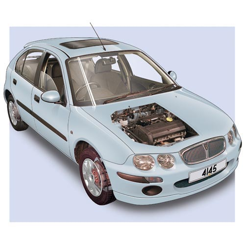 Modern Cars answer: ROVER 25