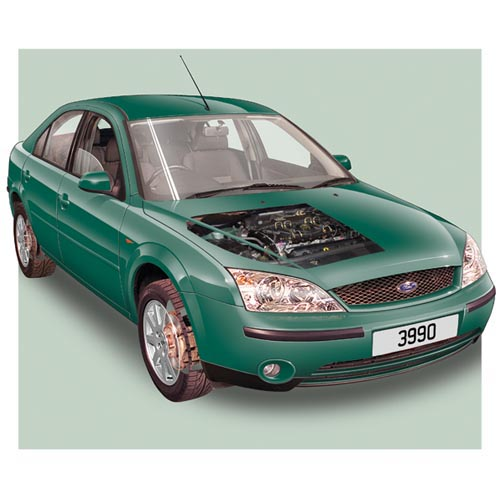 Modern Cars answer: FORD MONDEO MK3