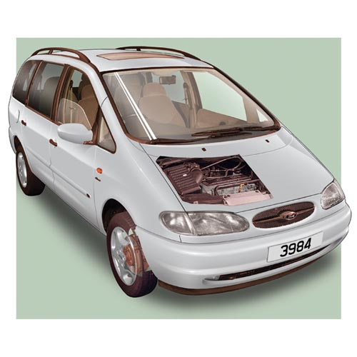 Modern Cars answer: FORD GALAXY
