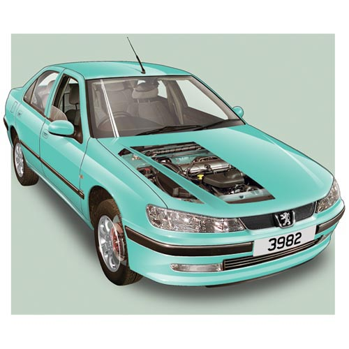 Modern Cars answer: PEUGEOT 406