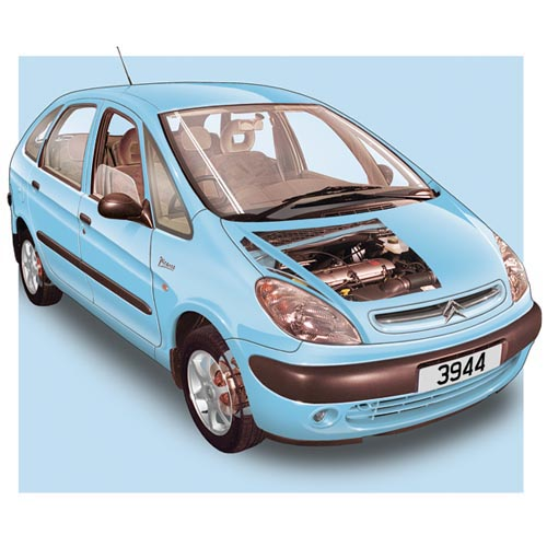 Modern Cars answer: CITROEN PICASSO