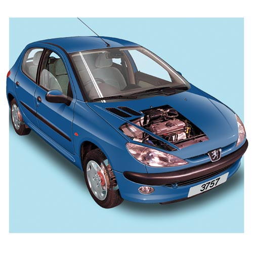 Modern Cars answer: PEUGEOT 206