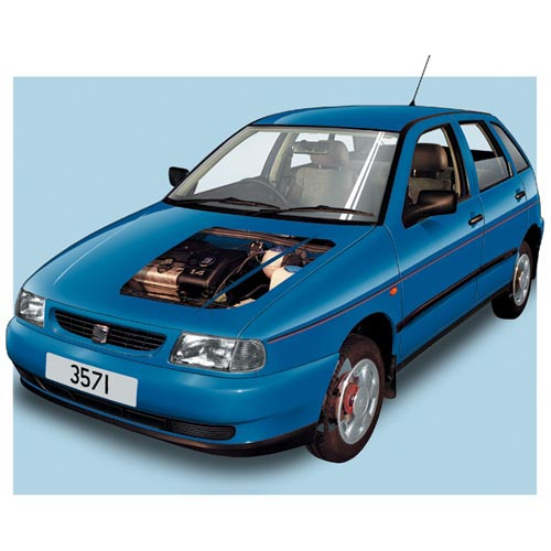 Modern Cars answer: SEAT IBIZA MK1