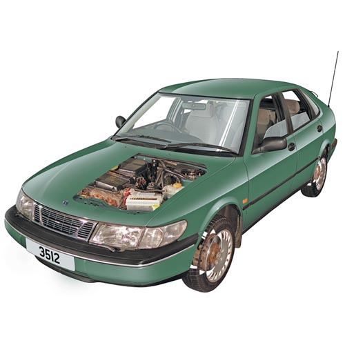 Modern Cars answer: SAAB 900