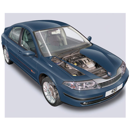 Modern Cars answer: RENAULT LAGUNA