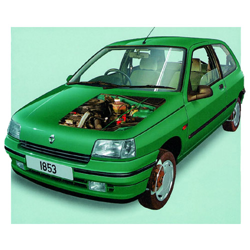 Modern Cars answer: RENAULT CLIO MK1