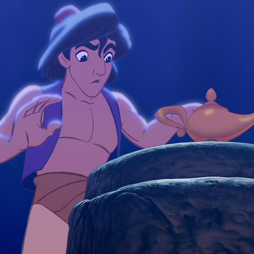 Movie Heroes answer: ALADDIN