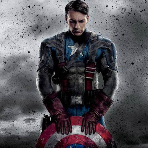 Movie Heroes answer: CAPTAIN AMERICA