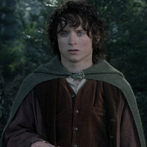 Movie Heroes answer: FRODO