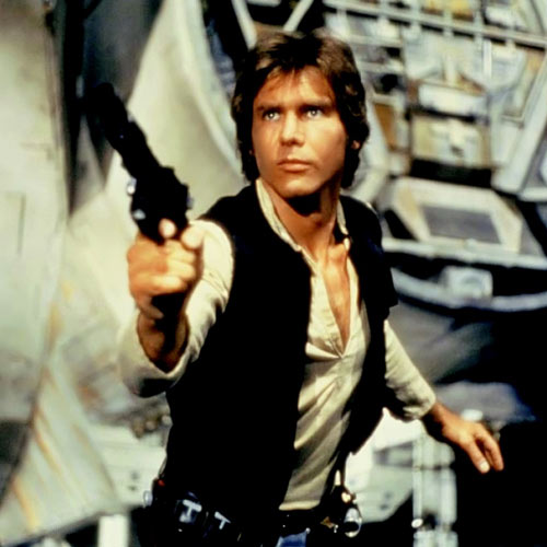 Movie Heroes answer: HAN SOLO