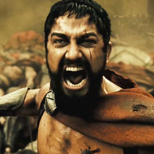 Movie Heroes answer: KING LEONIDAS