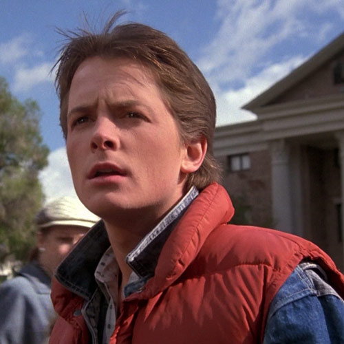 Movie Heroes answer: MARTY MCFLY