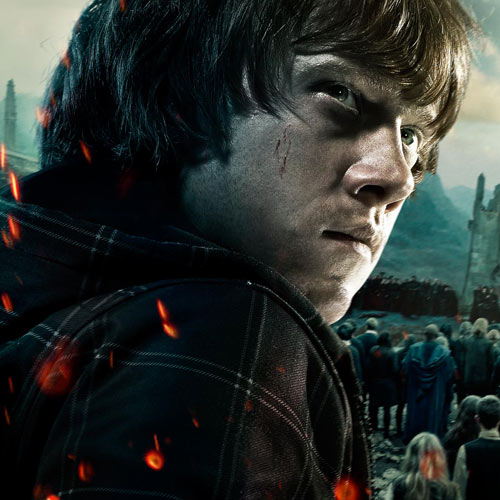 Movie Heroes answer: RON WEASLEY