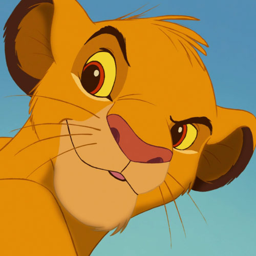 Movie Heroes answer: SIMBA