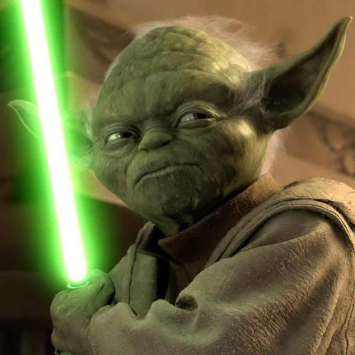 Movie Heroes answer: YODA