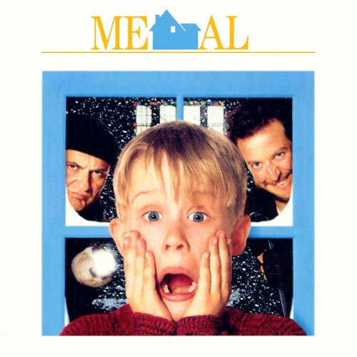 Movie Logos answer: HOME ALONE