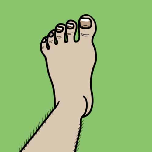 Movie Puzzles answer: MY LEFT FOOT