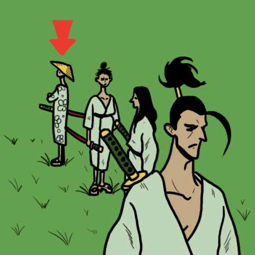 Movie Puzzles answer: THE LAST SAMURAI