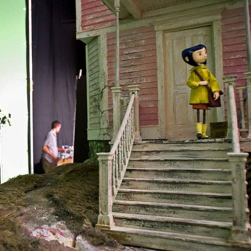 Movie Sets answer: CORALINE