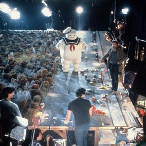Movie Sets answer: GHOSTBUSTERS