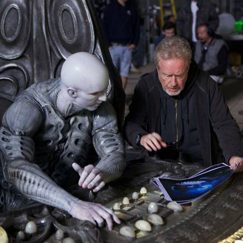 Movie Sets answer: PROMETHEUS