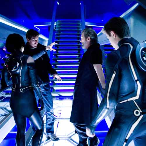 Movie Sets answer: TRON LEGACY