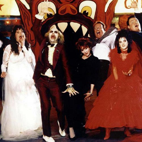 Movie Sets answer: BEETLEJUICE