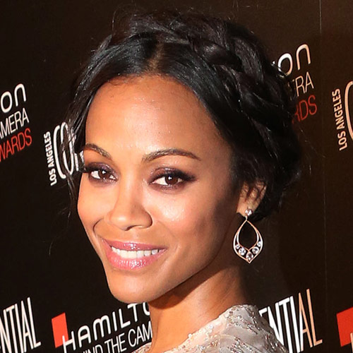 Movie Stars answer: ZOE SALDANA